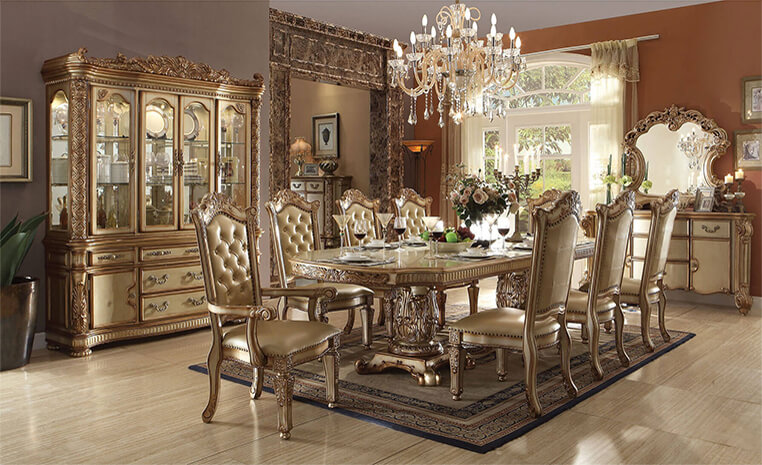 Hand Carved Luxury Furniture Teak Wood Handcrafted Furniture Online India