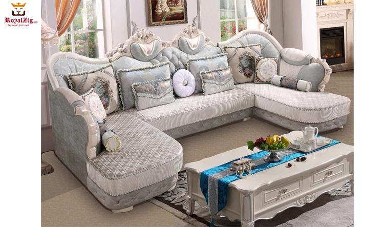 Adyar Designer Hand Carved Sofa Set Brand Royalzig