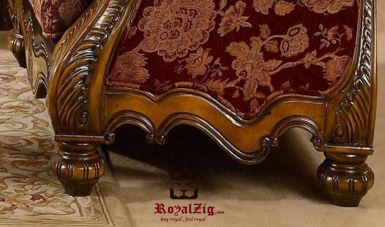 Antique Style Handcrafted Maharaja Sofa Set (2)