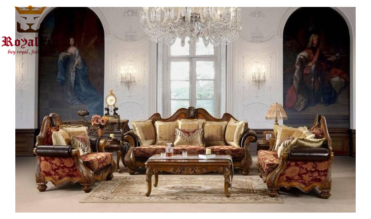 Antique Style Handcrafted Maharaja Sofa Set