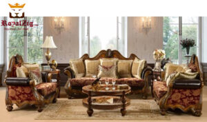 Antique Style Handcrafted Maharaja Sofa Set Online in India