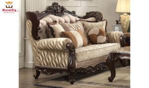 Antique Style Living Room Sofa Set Brand Royalzig Online in India