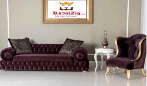 Bangalore Modern Luxury Sofa Set Brand Royalzig Online in India
