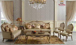 Basavanagudi Hand Carved Designer Sofa Set