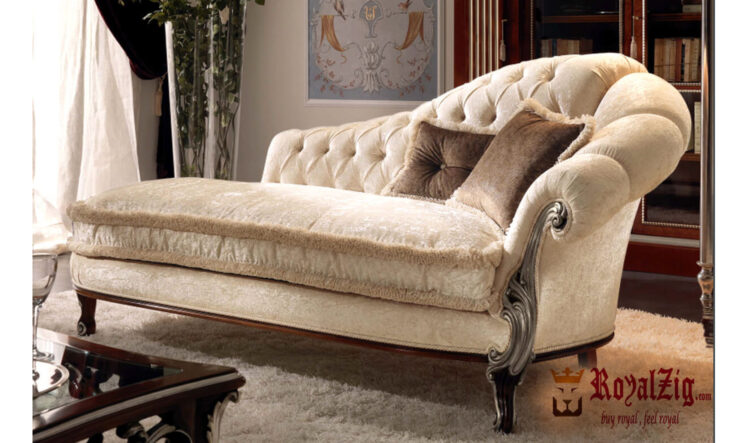 Beautiful Ivory Covered Divan Online in India