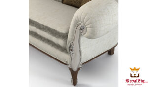 Beautiful Ivory Covered Divan Sofa Online in India