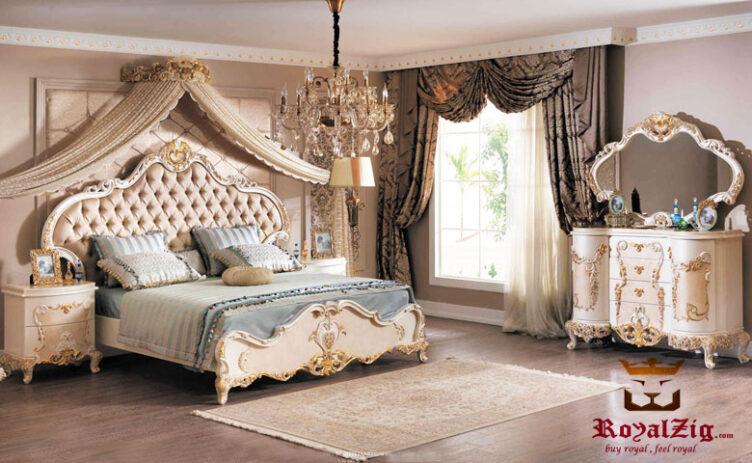 Catherine Luxury Bedroom Set Online in India