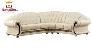 Classic Designer Tufted Corner Sofa Online in India