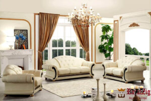 Classic Designer Tufted Corner Sofa Online in India
