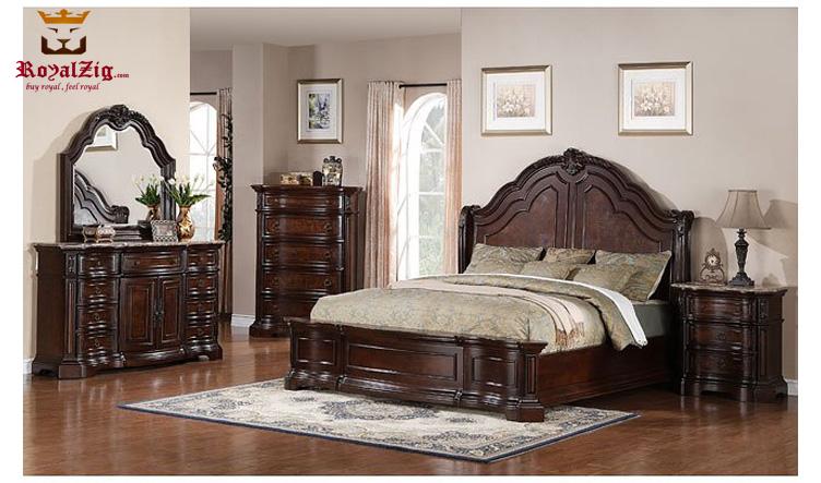 Eddington Complete Bedroom Set Brand Royalzig Online in India