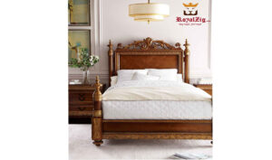 French Crafted Headboard Royal Bed