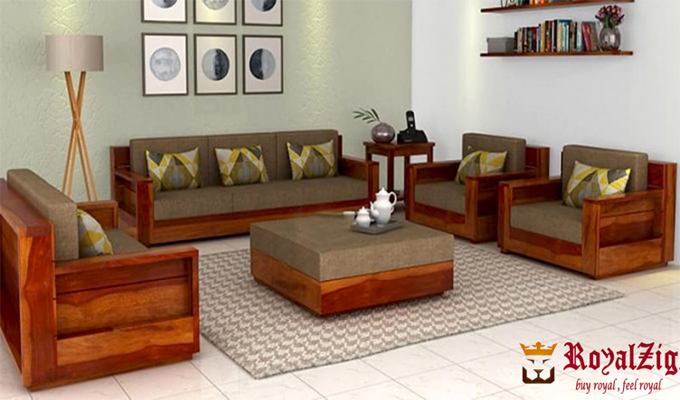 Good Wooden Sofa Set Online in India