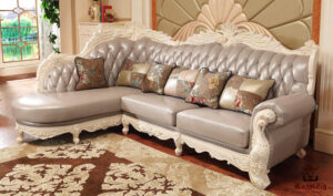 Gopalapuram Designer Hand Carved Sofa Set Brand Royalzig Online in India