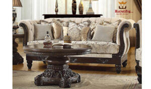 Hand Carved Antique Style Sofa Set Brand Royalzig Online in India