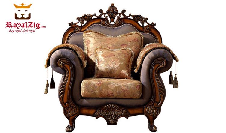 Hand Carved Ottoman Sofa Set (2)