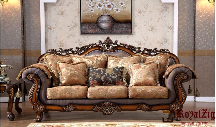 Hand Carved Ottoman Sofa Set (3)
