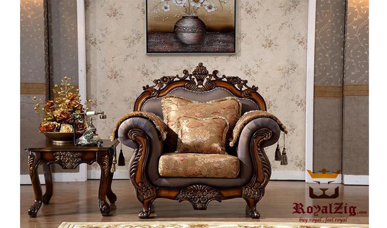 Hand Carved Ottoman Sofa Set (4)