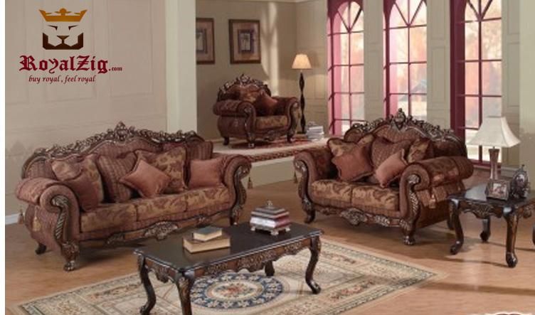 Hand Carved Ottoman Sofa Set (5)
