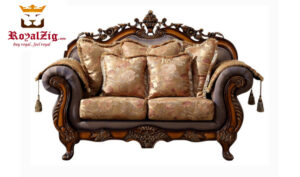 Hand Carved Ottoman Sofa Set Online in India