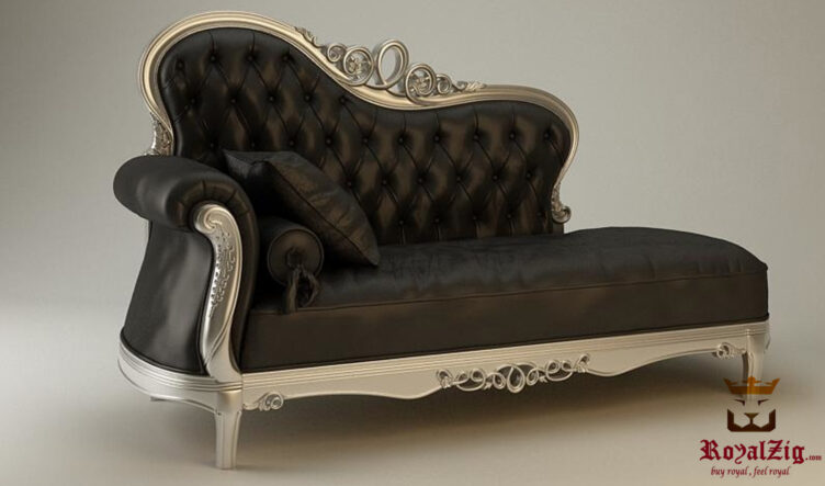 Handcrafted European Style Chaise Lounge 2