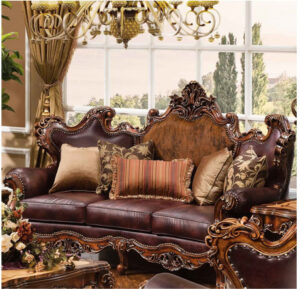 Indian Classical Style Maharaja Sofa Set Brand Royalzig Online in India