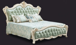 Italian Style Imperial Hand Carving Bed Brand Royalzig Online in India