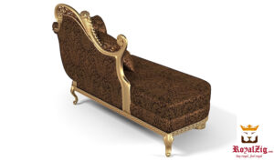 Italian Style Queen Chaise Lounge Online in India