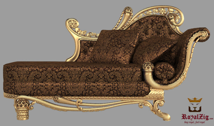 Italian Style Queen Chaise Lounge