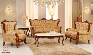 Koramangala Hand Carved Designer Sofa Set Online in India