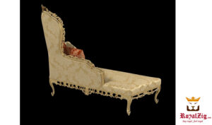 Luxury Hand carved Italian Style chaise Lounge Online in India