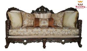 Maharaja Antique Style Sofa Set Brand Royalzig Online in India