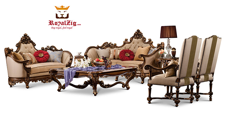 Maharaja Style Sofa Set Brand Royalzig Online in India