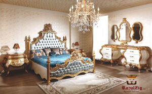 Margaret Luxury Bedroom set Online in India