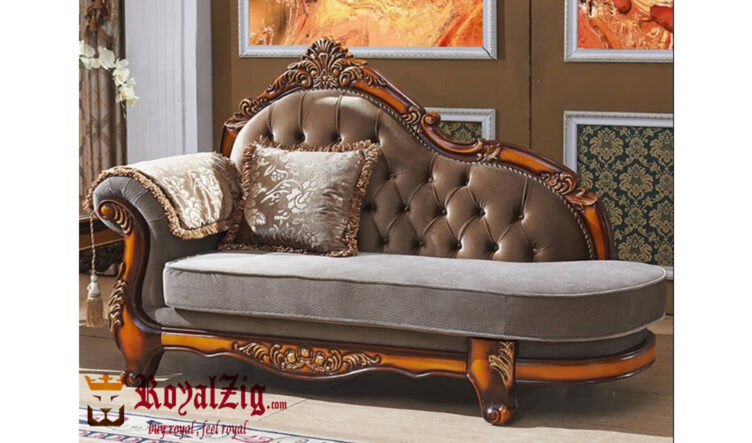Ottoman Crafted Teak Wood Diwan Online in India