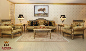 Rajasthani Maharajah Sofa Set Brand Royalzig Online in India