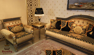 Rajasthani Maharajah Sofa Set Brand Royalzig Online in India