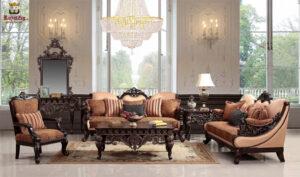 South Mumbai High Carving Sofa Set Online in India