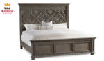 Vintage Panel Bed Handcrafted Solid Teak Wood Brand Royalzig Luxury Furniture Buy Royal, Feel Royal