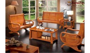Wooden Living Room Sofa Set Online in India