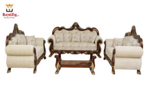 4 Piece Maharaja Sofa Set