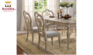 Alexander Antique Style Hand Carved Dining Table Online in India