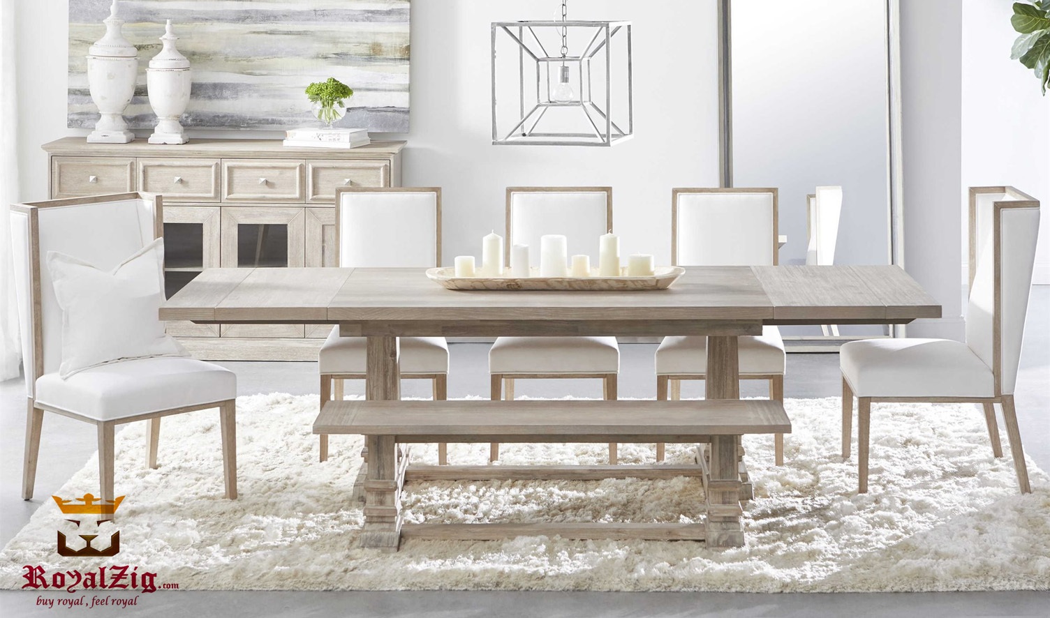 Altherton Modern Style Dining Table, Modern Style Dining Room Furniture