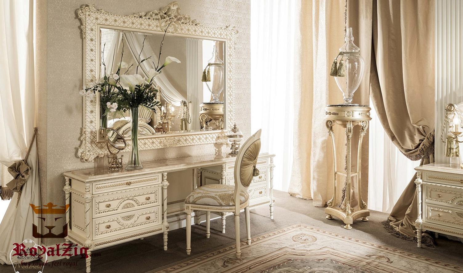 Anne Italian Style Luxury Dressing Table