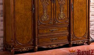 Antique Luxury Wooden Wardrobe