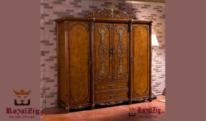 Antique Luxury Wooden Wardrobe