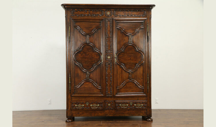 Antique Rustic Finished Wardrobe