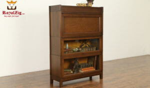 Bouica Antique Style Library Cabinet