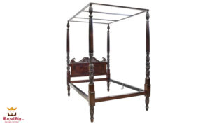 British Colonial Style Four Poster Bed