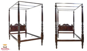 British Colonial Style Four Poster Bed Online in India