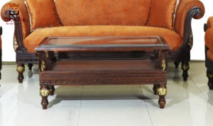 Buy Online Antique Carving Center Table Brand Royalzig Handicrafts